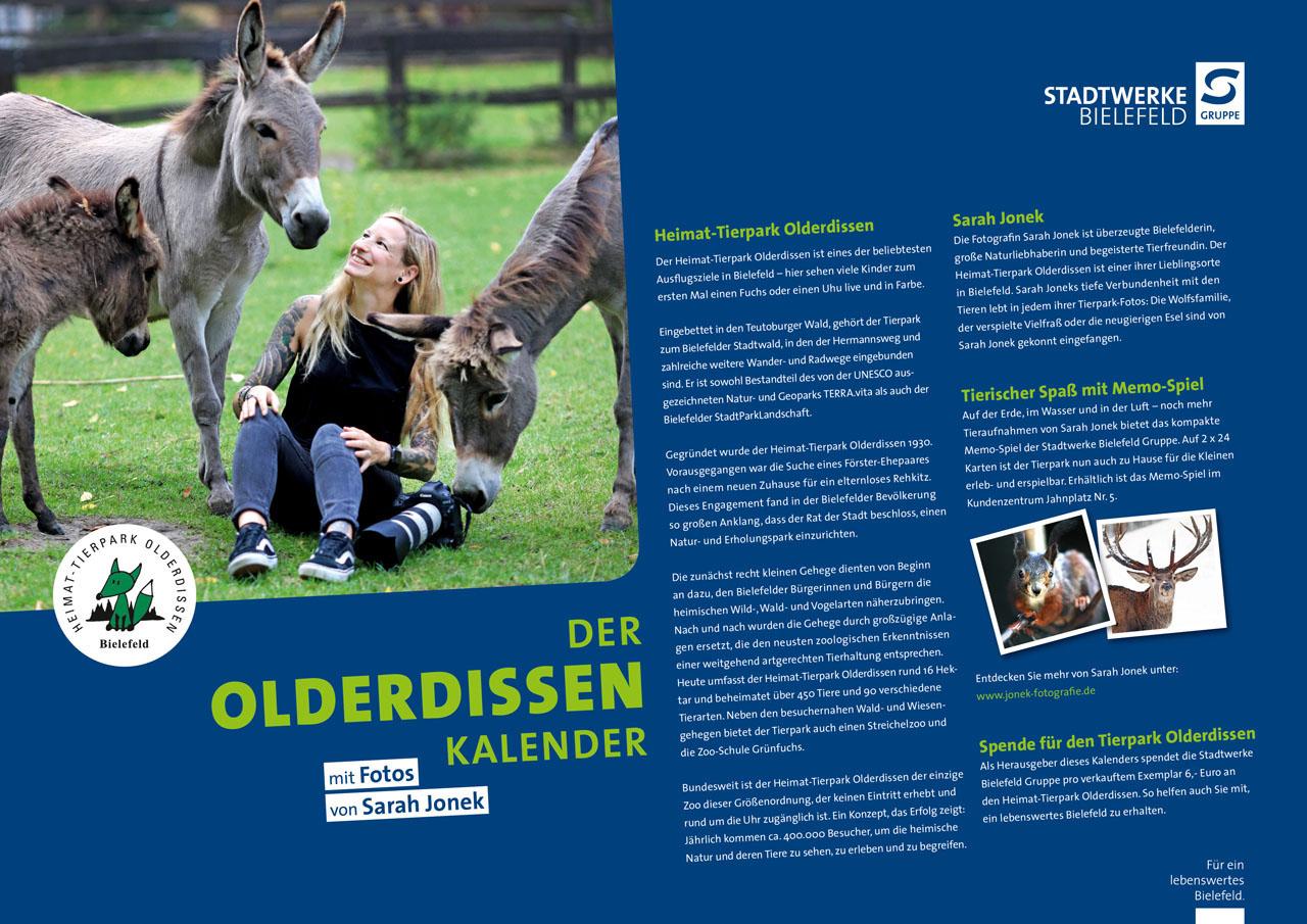 Lebenswertes Bielefeld Kalender Tierpark Olderdissen